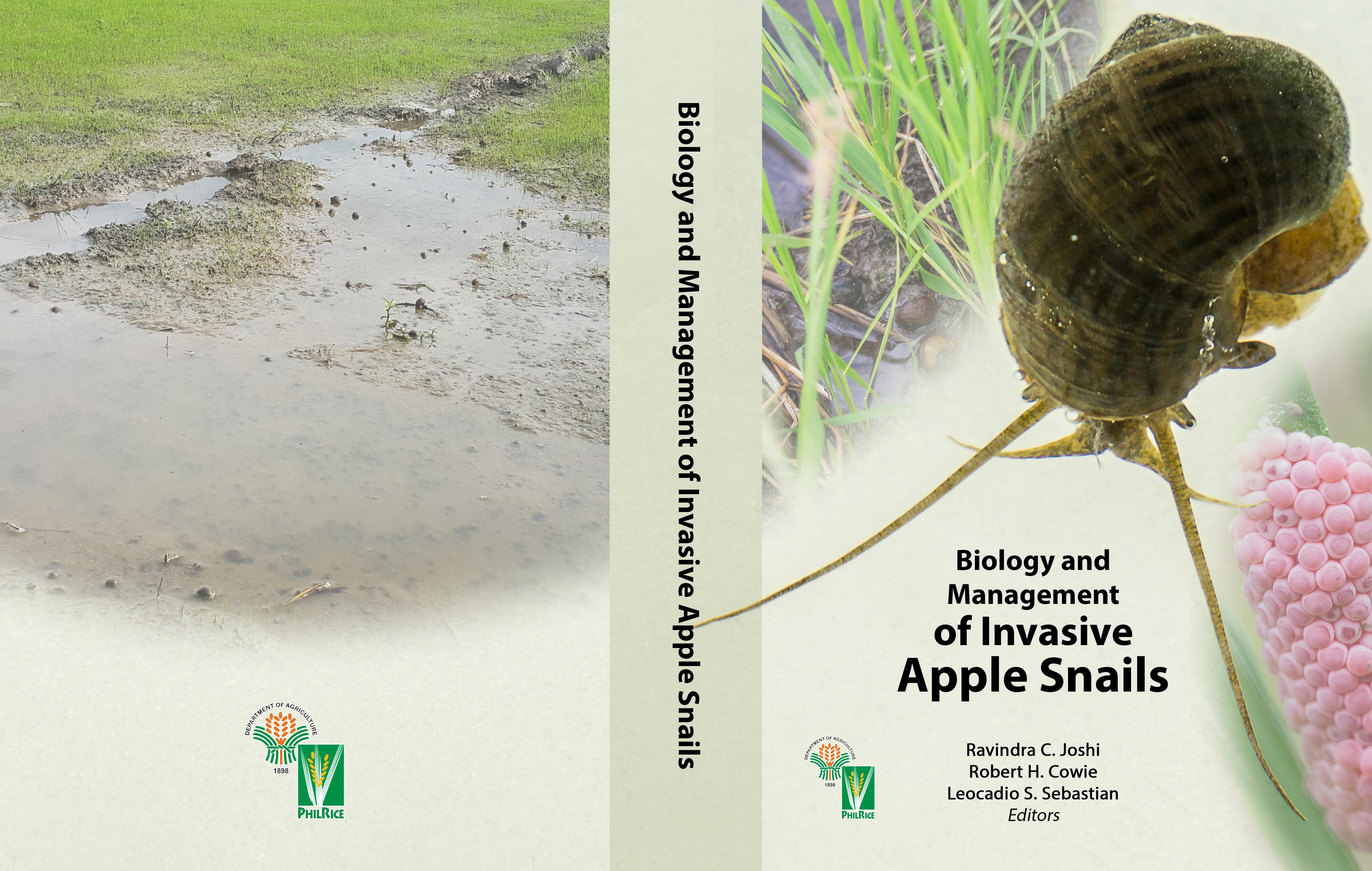 Invasive Apple Snails- Book Cover